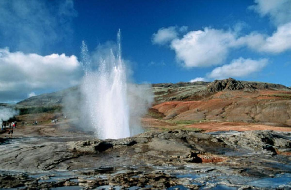 the oldest geyser in the world