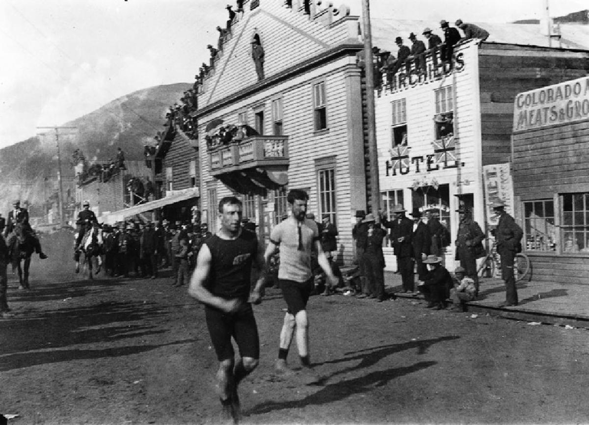racing in DAWSON CITY