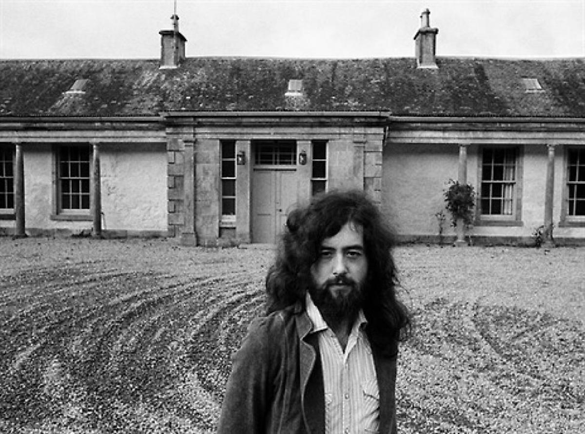 Jimmy Page at Boleskine 1970s