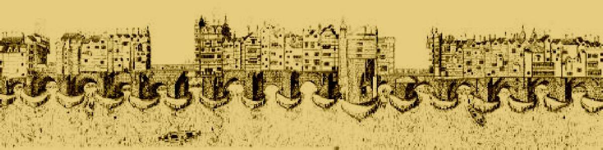 Medieval London Bridge