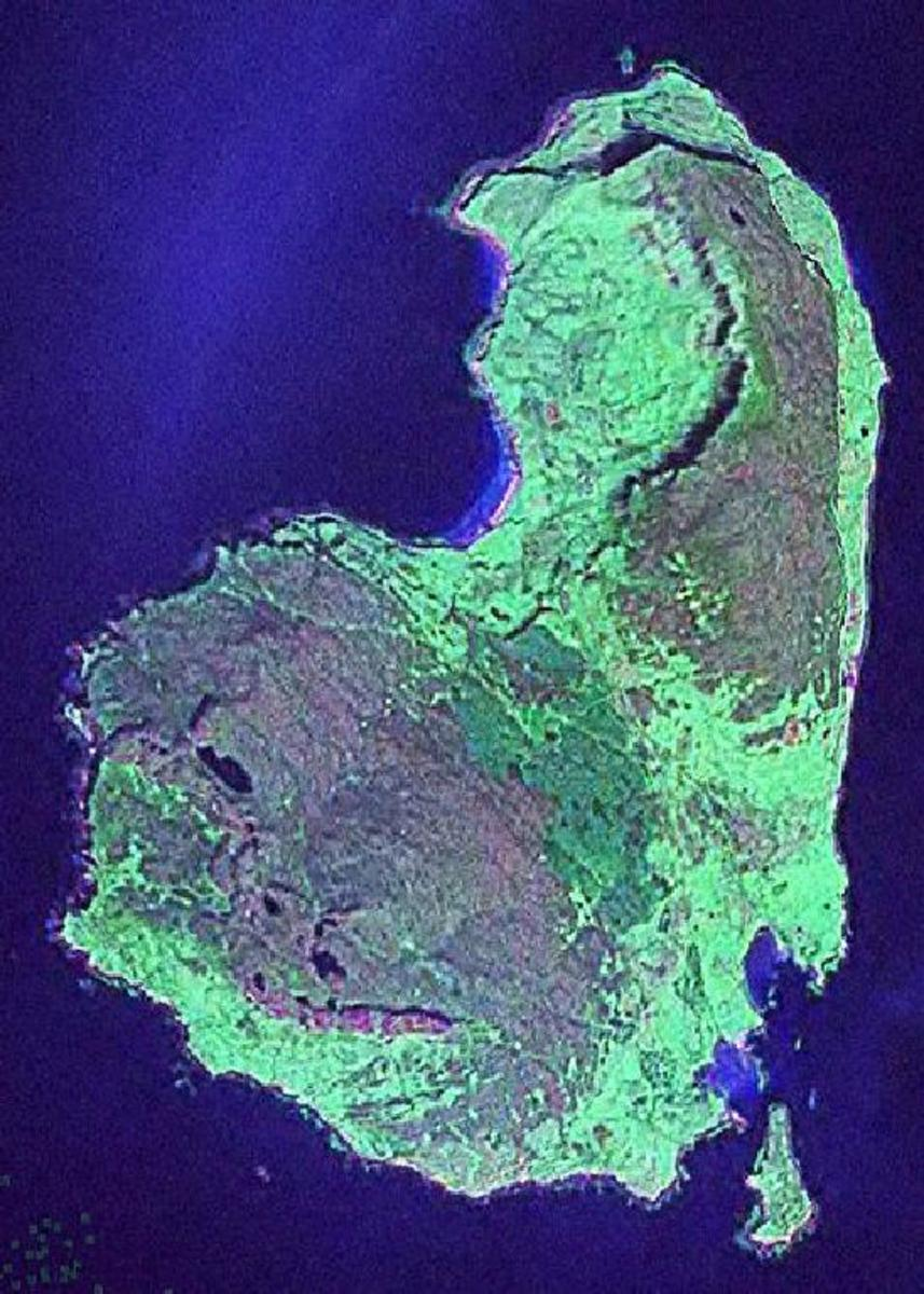 EIGG from space