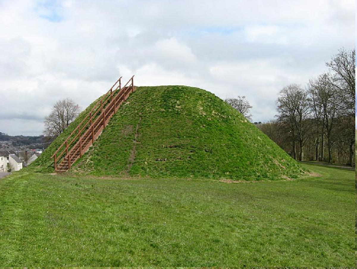 the Motte, HAWICK