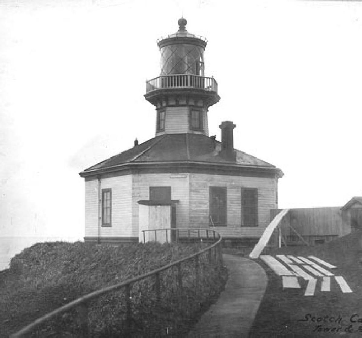 the SCOTCH CAP lighthouse