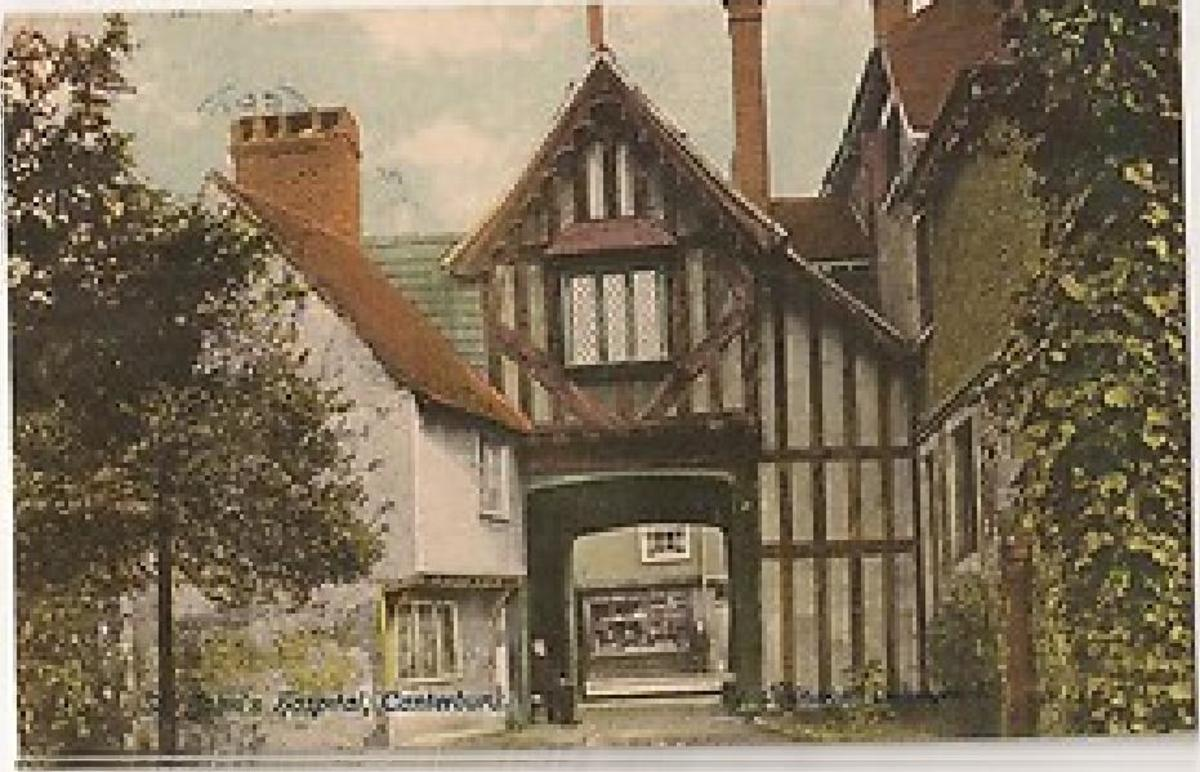 St John's 1905 Postcard
