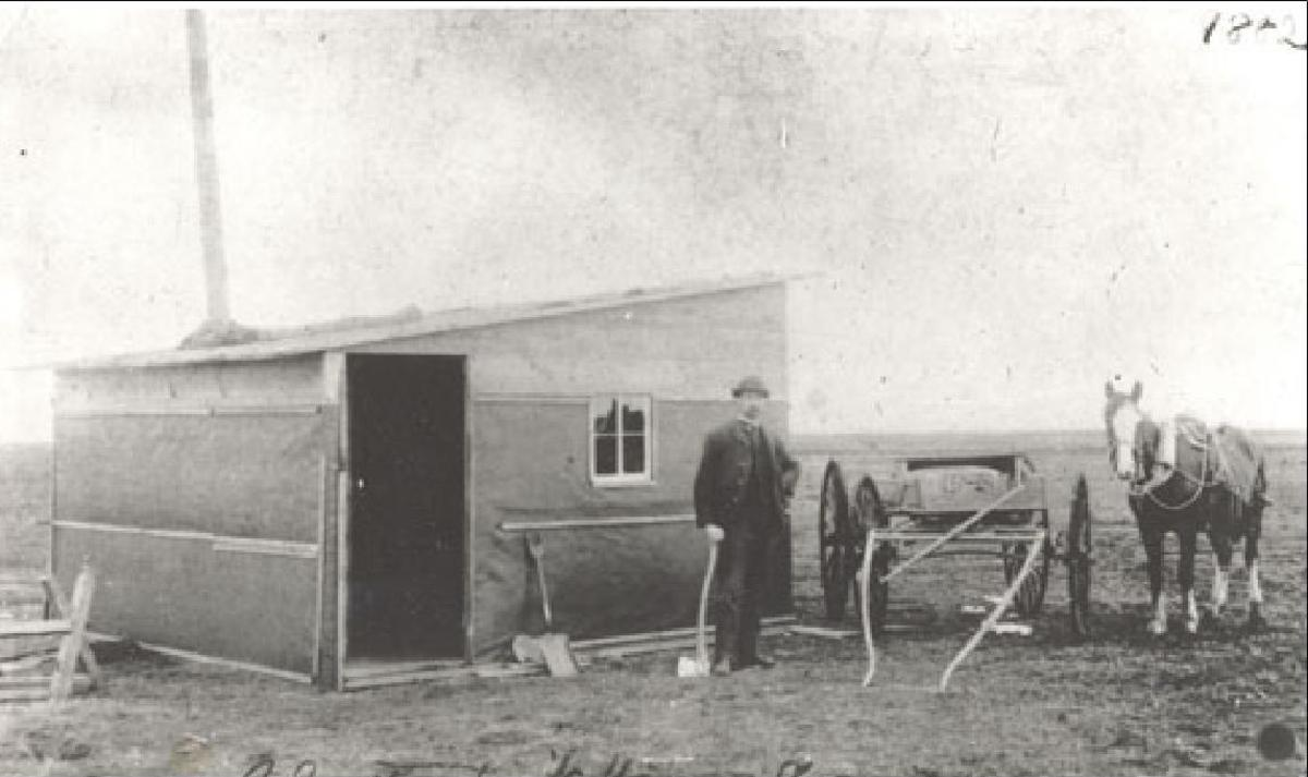 the 1st House built in REGINA