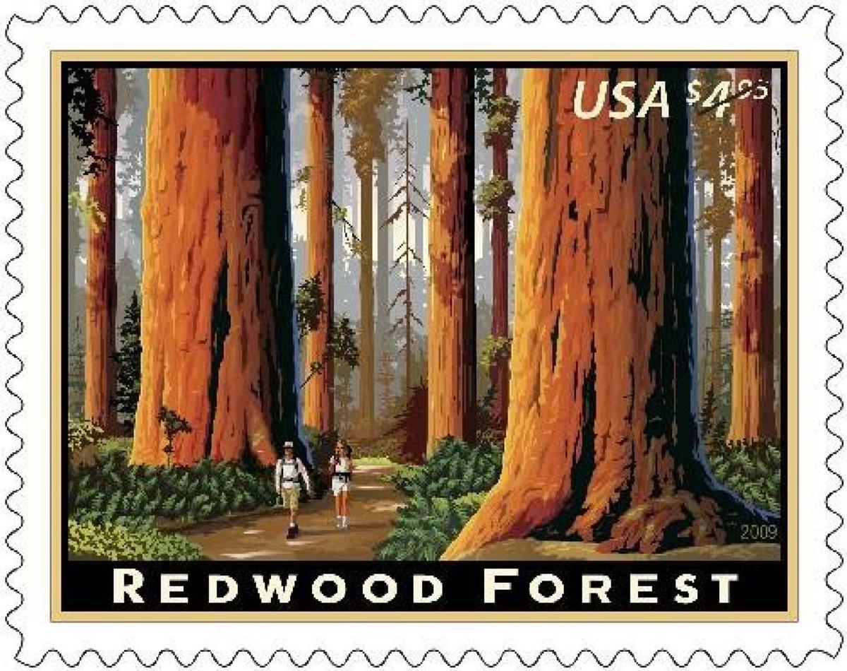 US postal-stamp