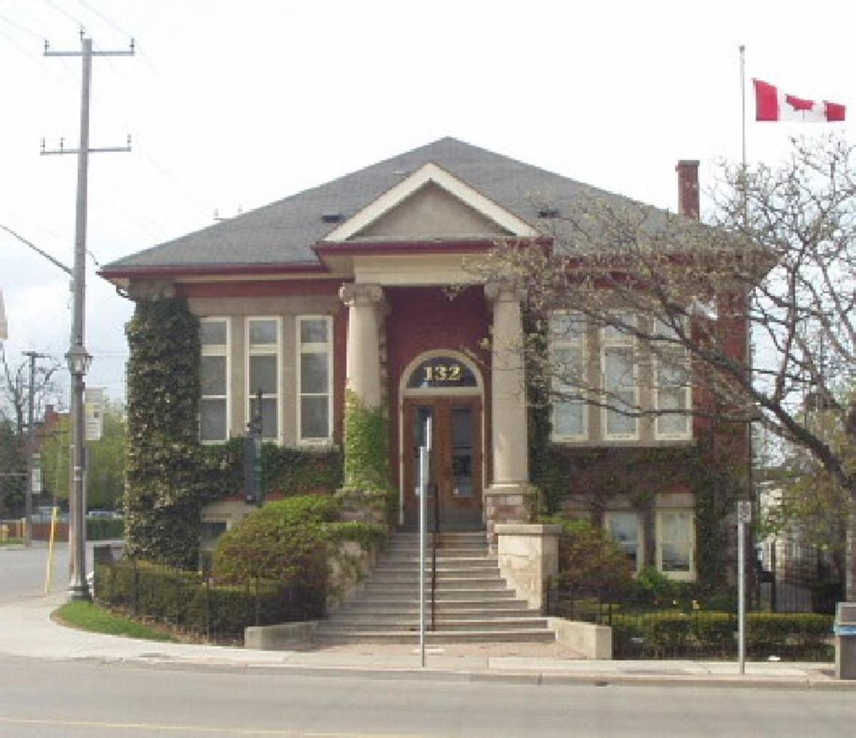 Whitby Library Canada