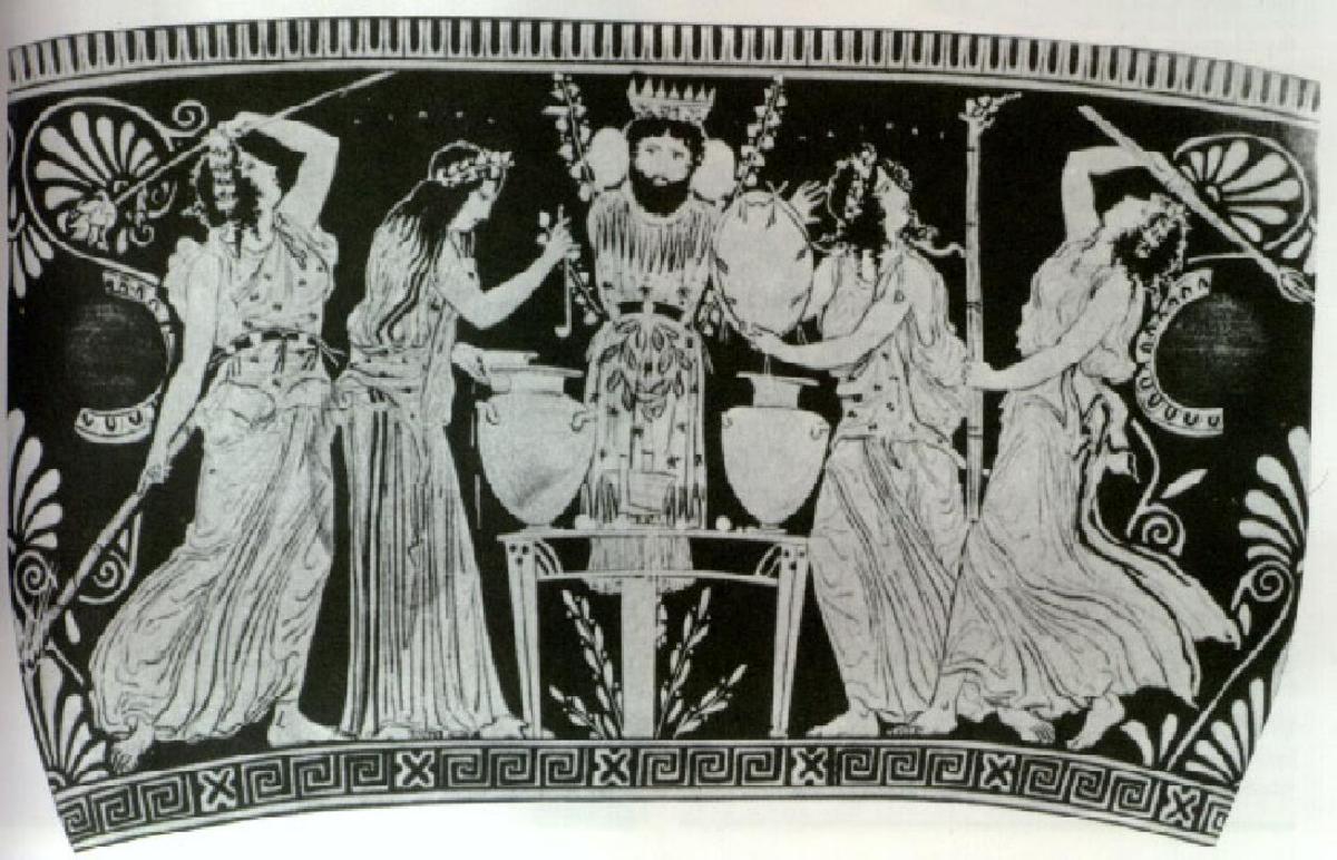 Dionysus & Maenads