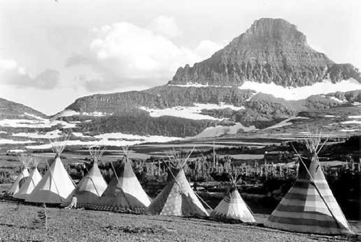 1st Nation's Village on Glacier [Park]