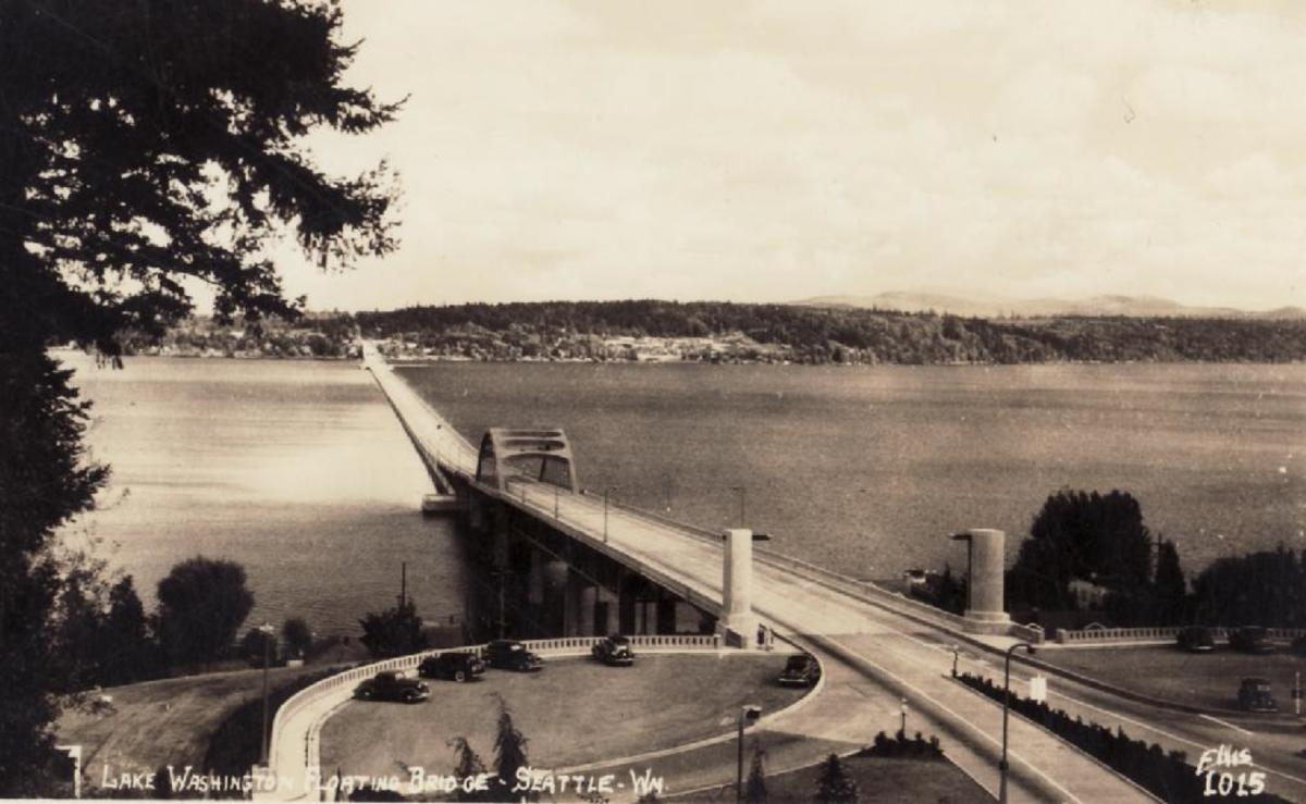 Lake Washington Seattle-Bridge
