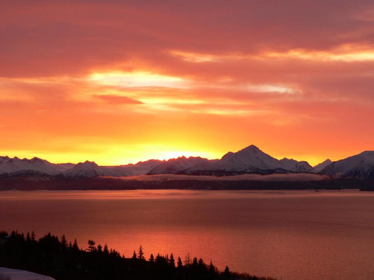 Sunrise Alaska
