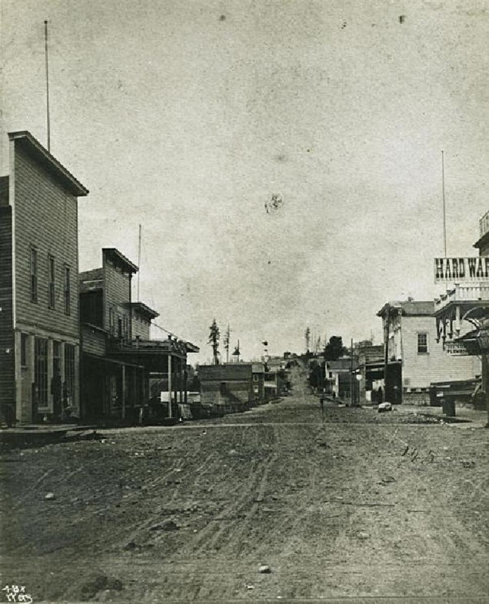 First Avenue SEATTLE, 1870