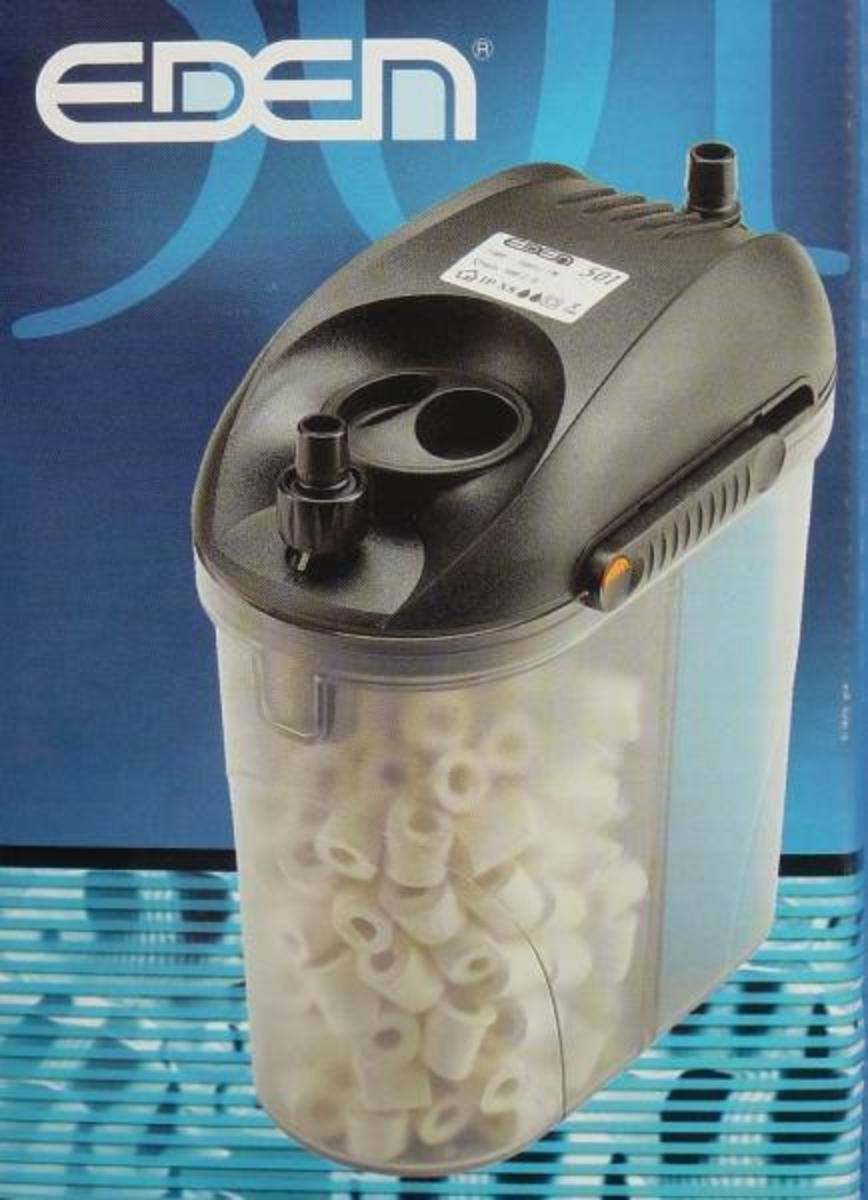 Eden 501 – Fish and Turtle Canister Filter Review