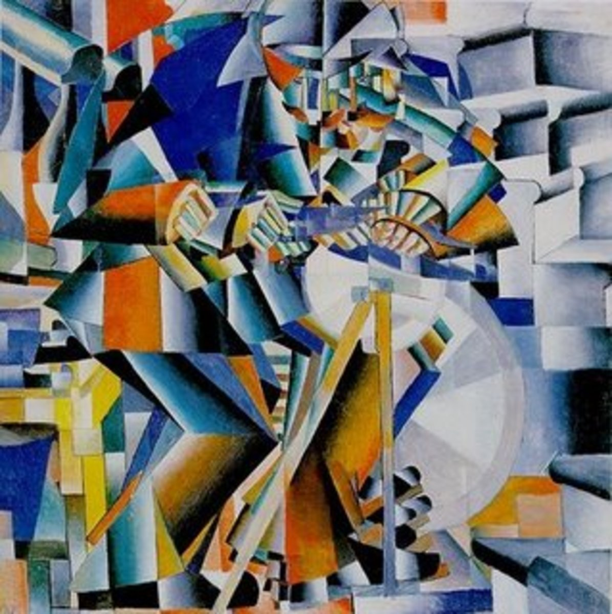 This early 20th Century aart glorified the machine age and attempted to represent the machine and figures in motion. The aesthetics of Futurism affirmed the beauty of technological society. Sometime different ideas become the reality of different ide