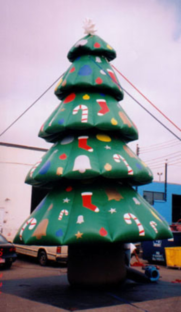 Christmas Inflatable Decorations