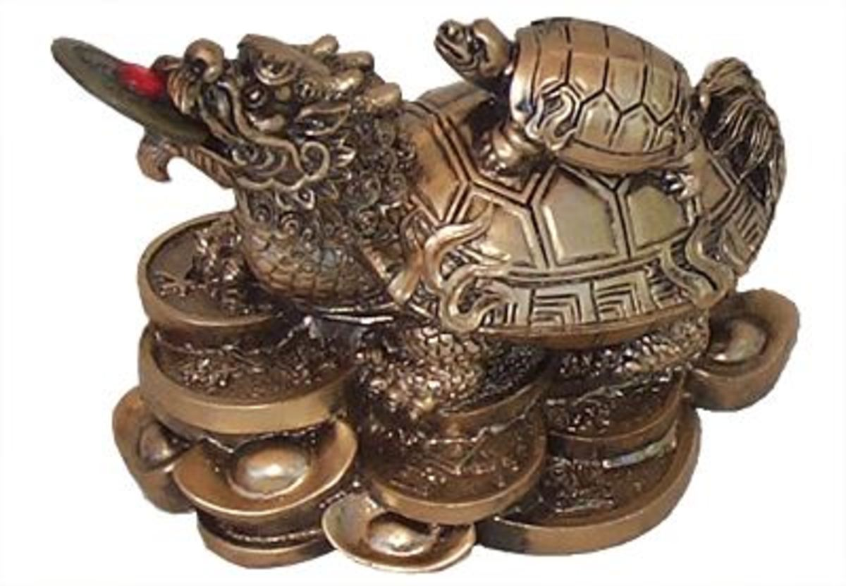 Dragon Turtle (Tortoise)Feng Shui Symbol - Meaning and Placement