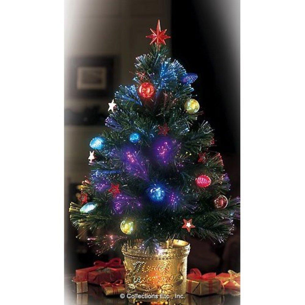 Fiber Optic Christmas Lights