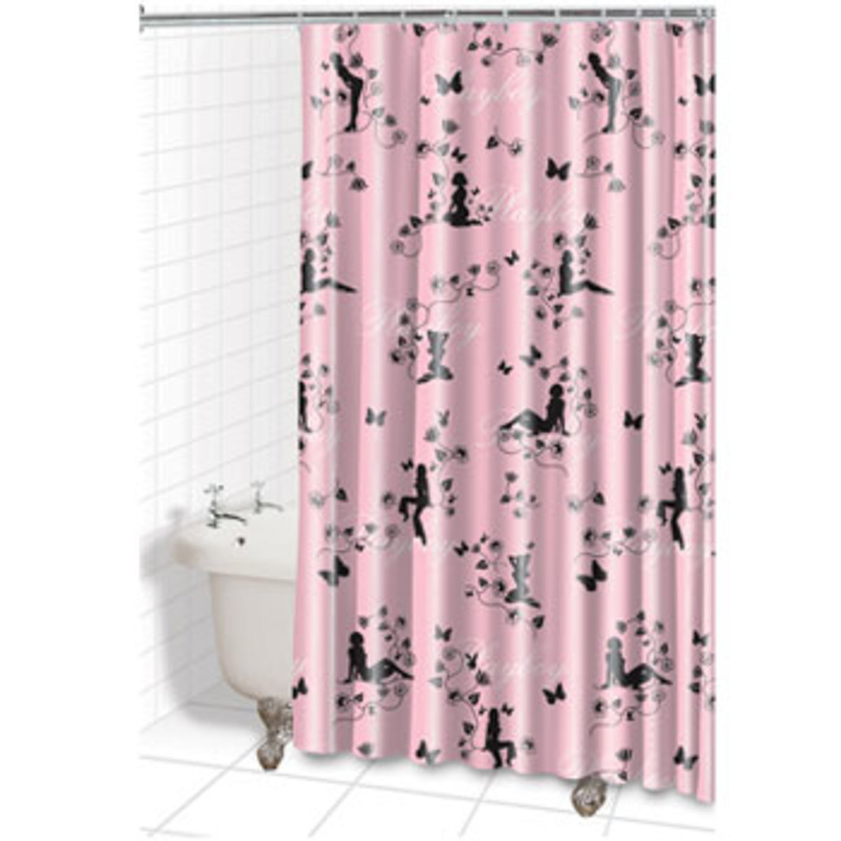 Playboy Pinup Shower Curtain