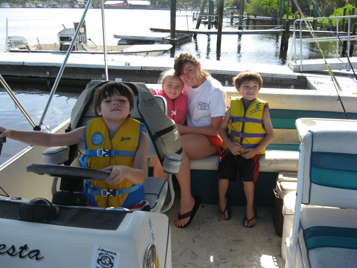 Pontoon boats are fun for the whole family!