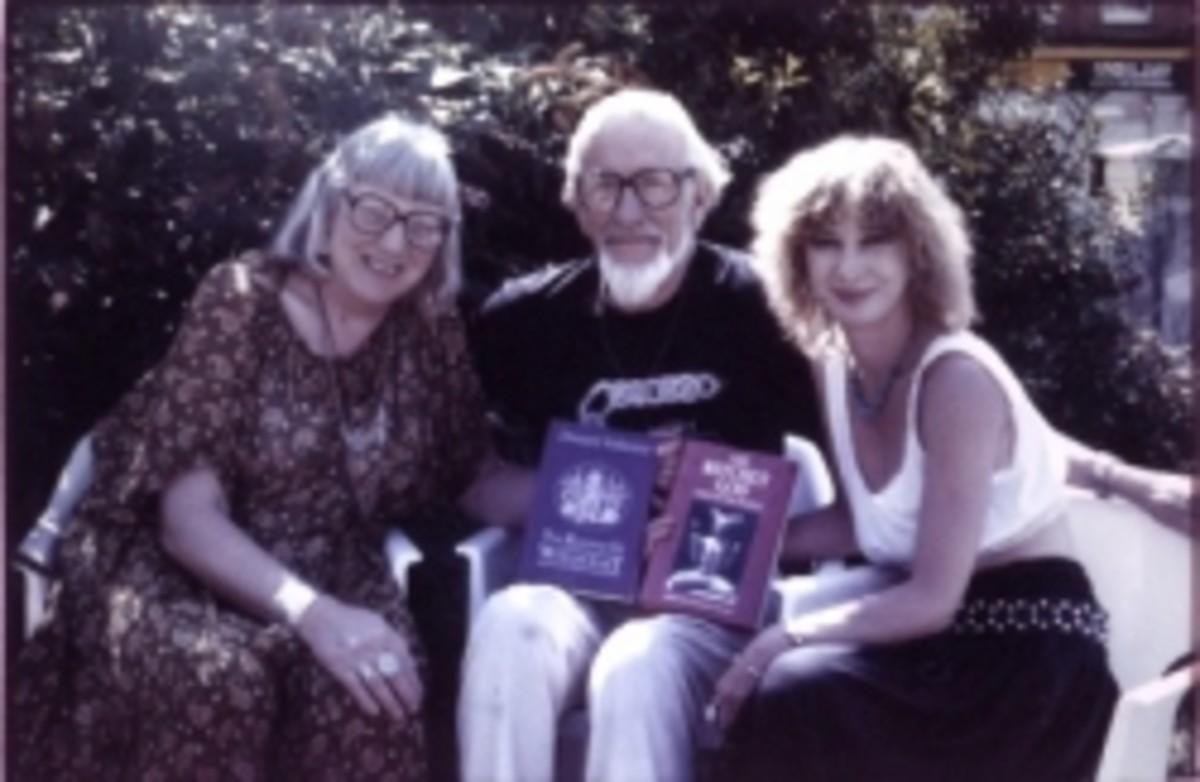 Doreen Valiente with Stewart and Janet Farrar