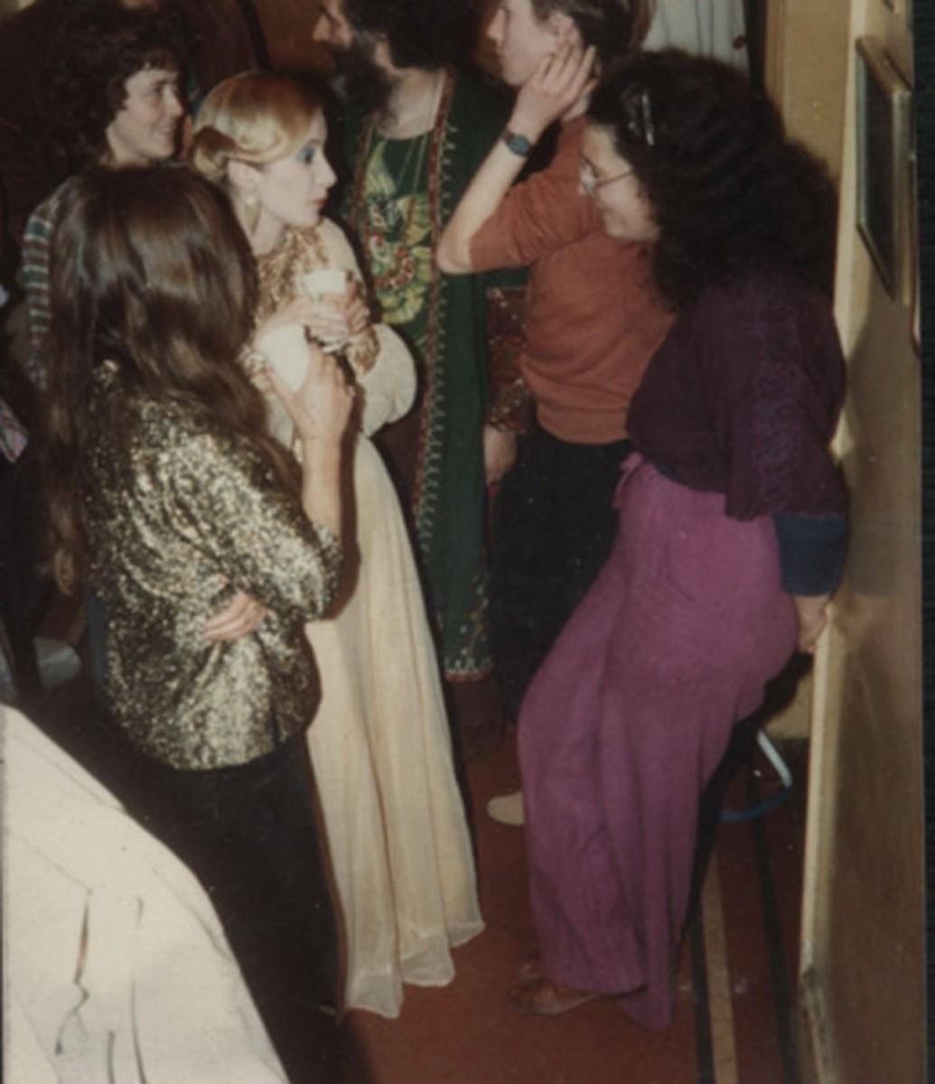 Janet Farrar with Starhawk@Janet Farrar