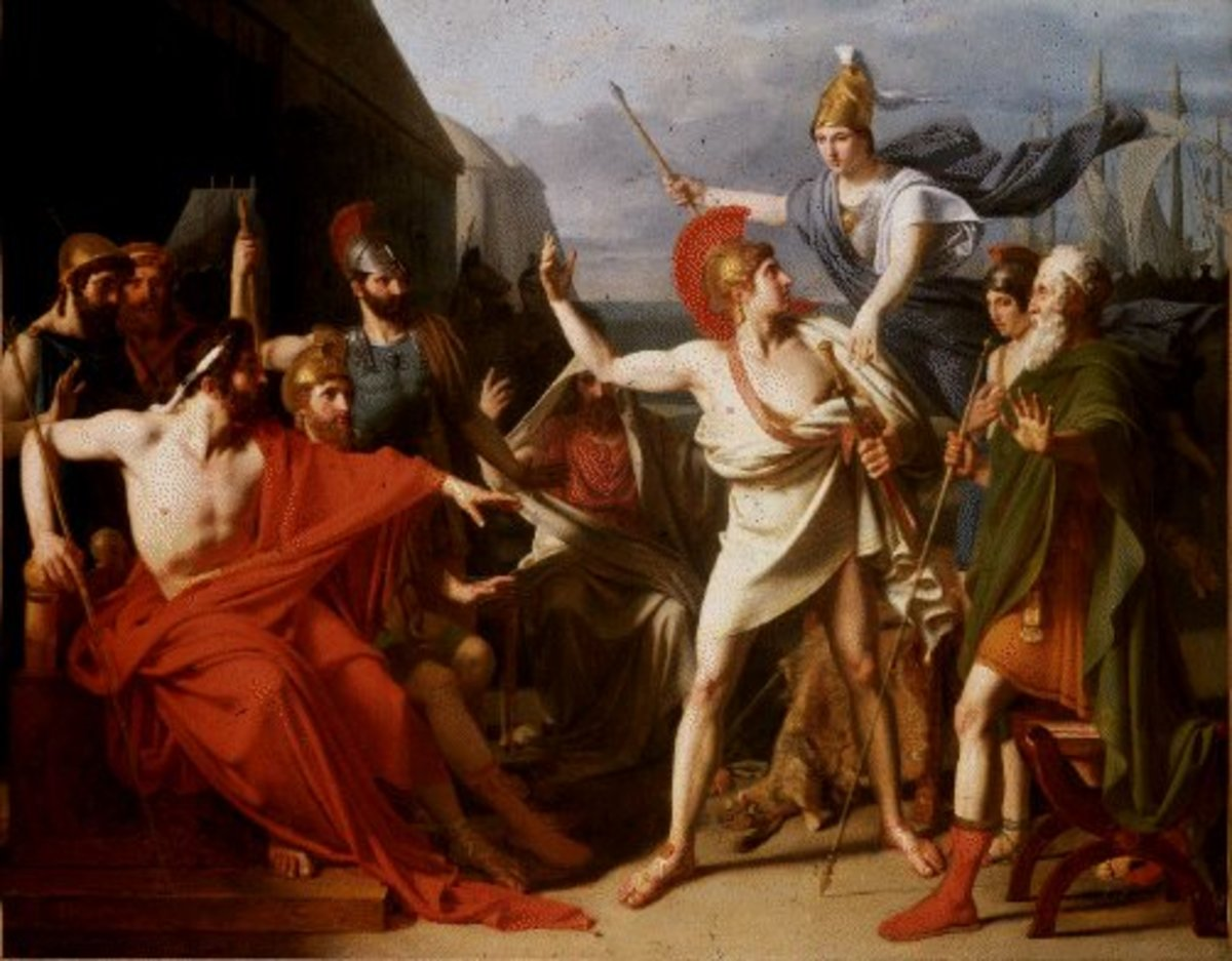 The Wrath of Achilles by Michel Drolling