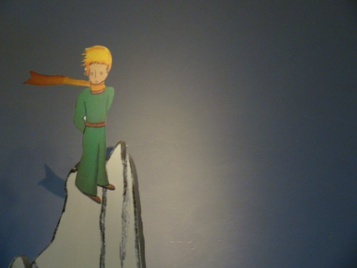 The Little Prince Lands