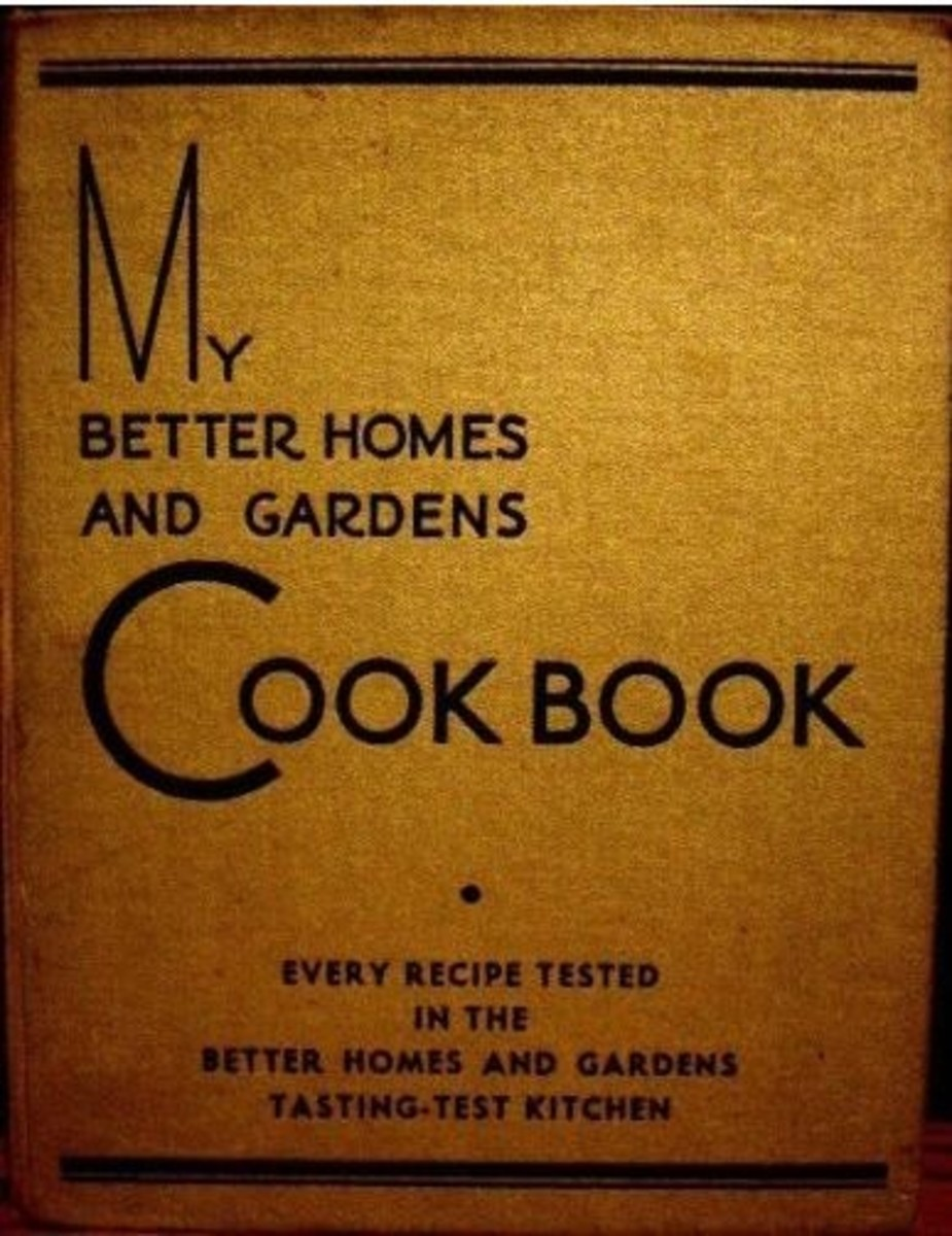 1930 My Better Homes and Gardens Cook Book 10th Printing 1935