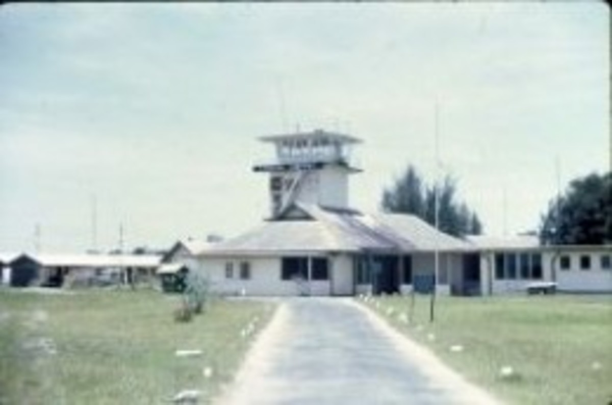 RAF Labuan, Borneo