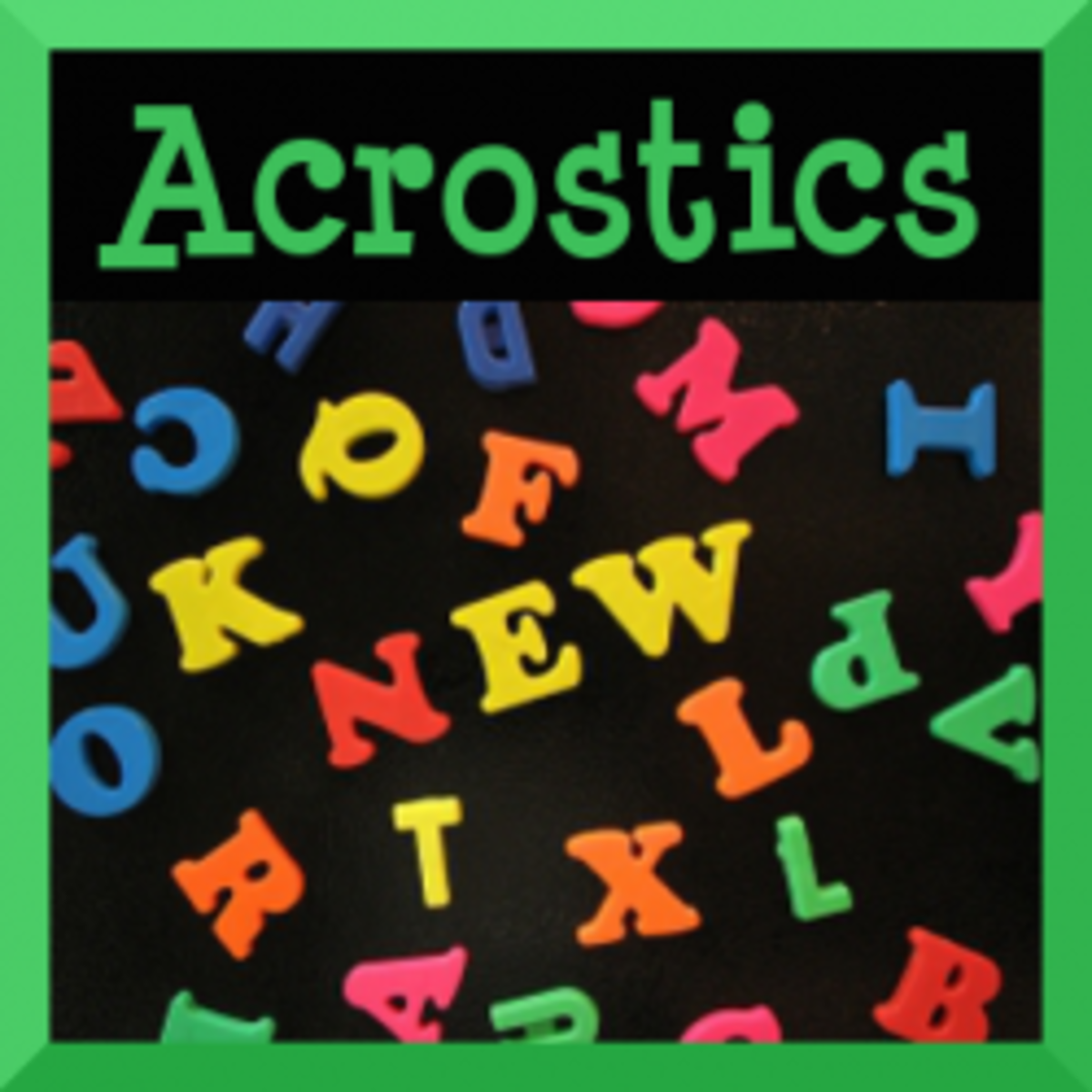 Language Arts Lessons with Acrostics