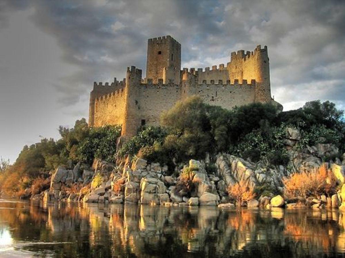 Almourol Castle Portugal