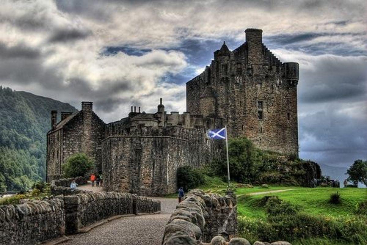 Eilean Donan  Scotland.