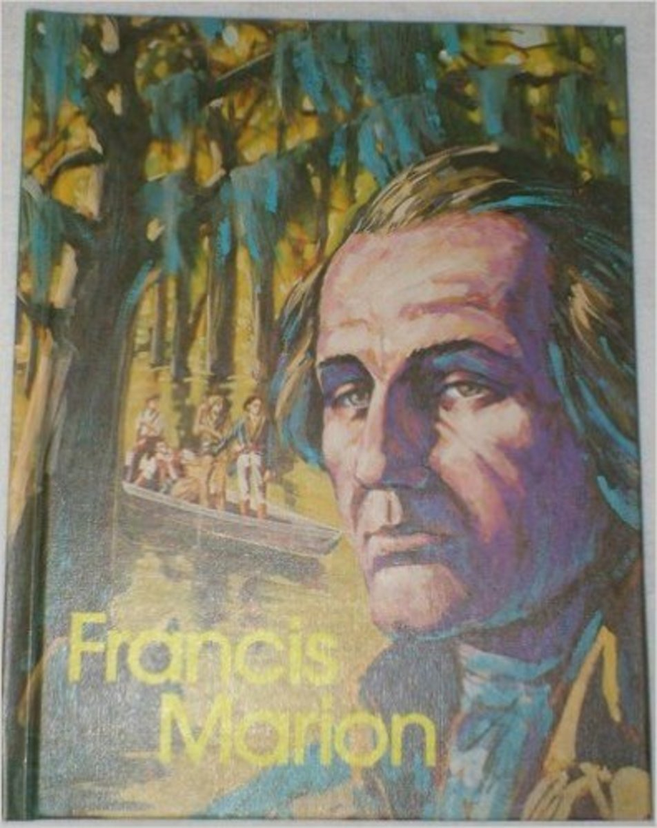 Francis Marion, Swamp Fox (Gallery of Great Americans: Frontiersmen of America) by Matthew G. Grant