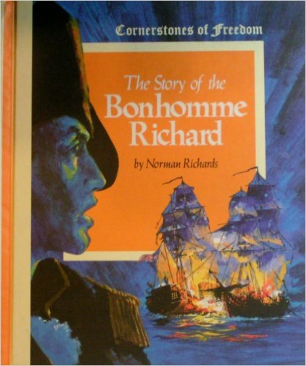 The Story of the Bonhomme Richard by Norman Richards