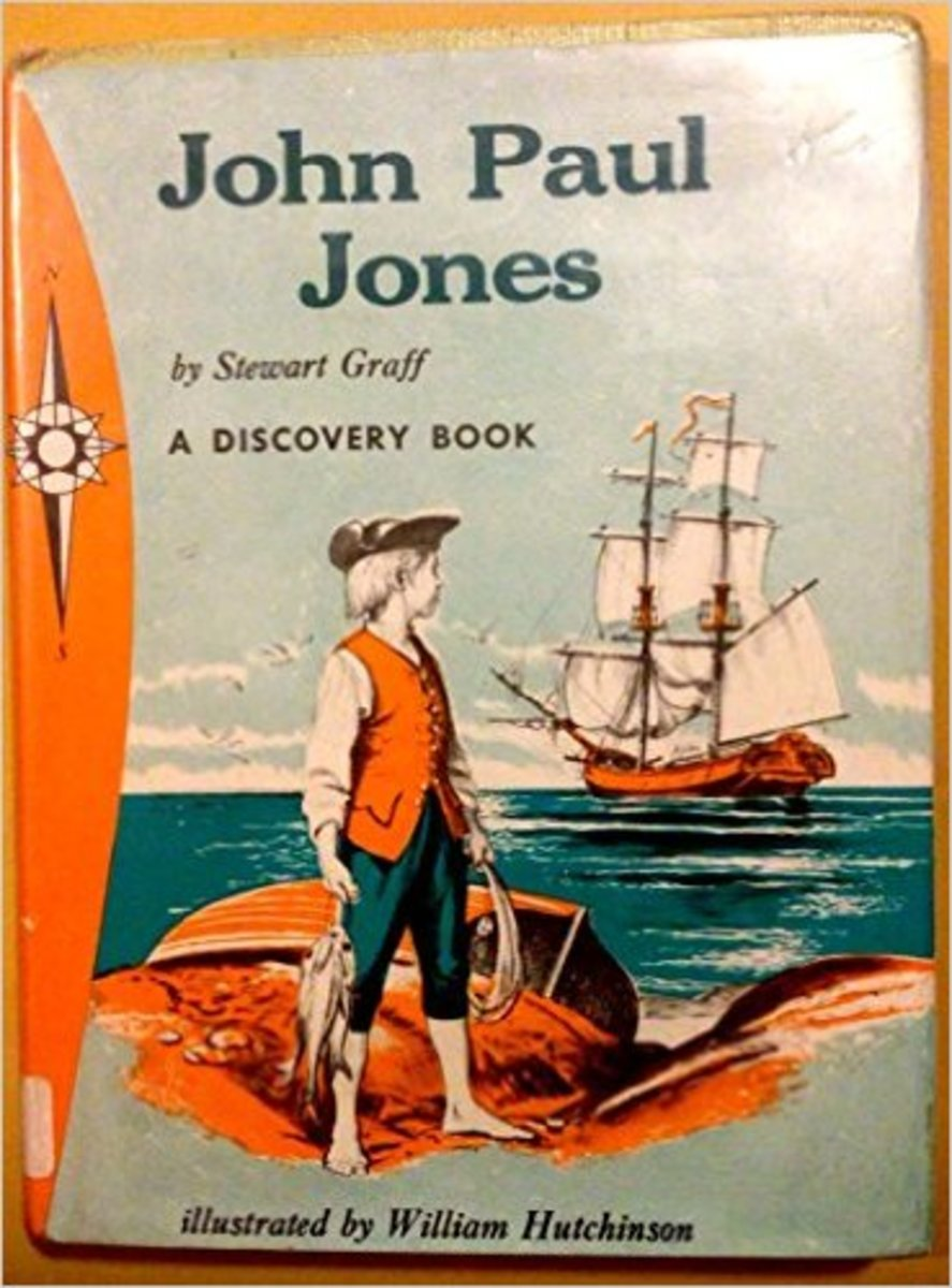 John Paul Jones: Sailor Hero (A Discovery Book) by Stewart Graff