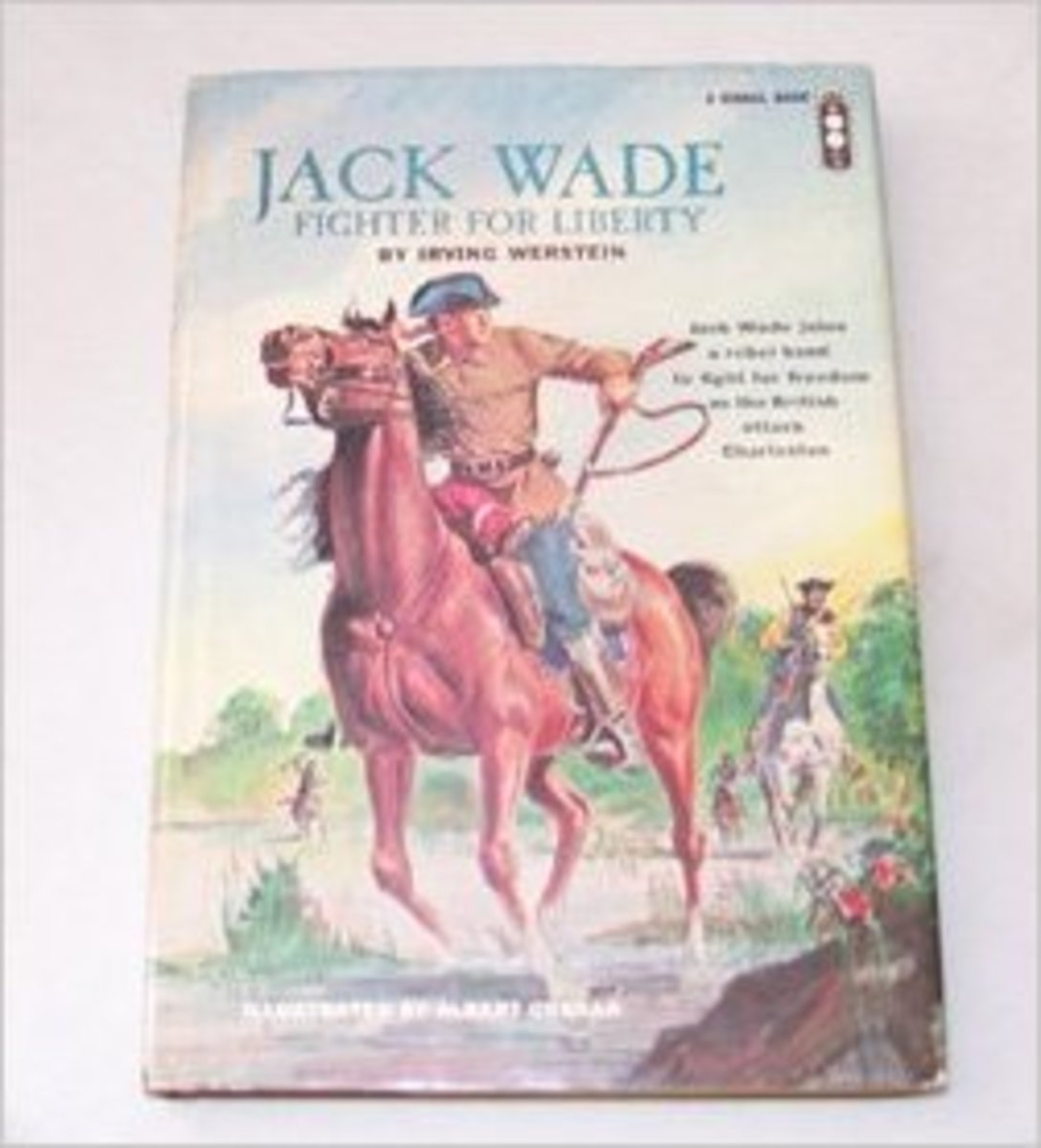 Jack Wade: Fighter for liberty (A Signal book) by Irving Werstein