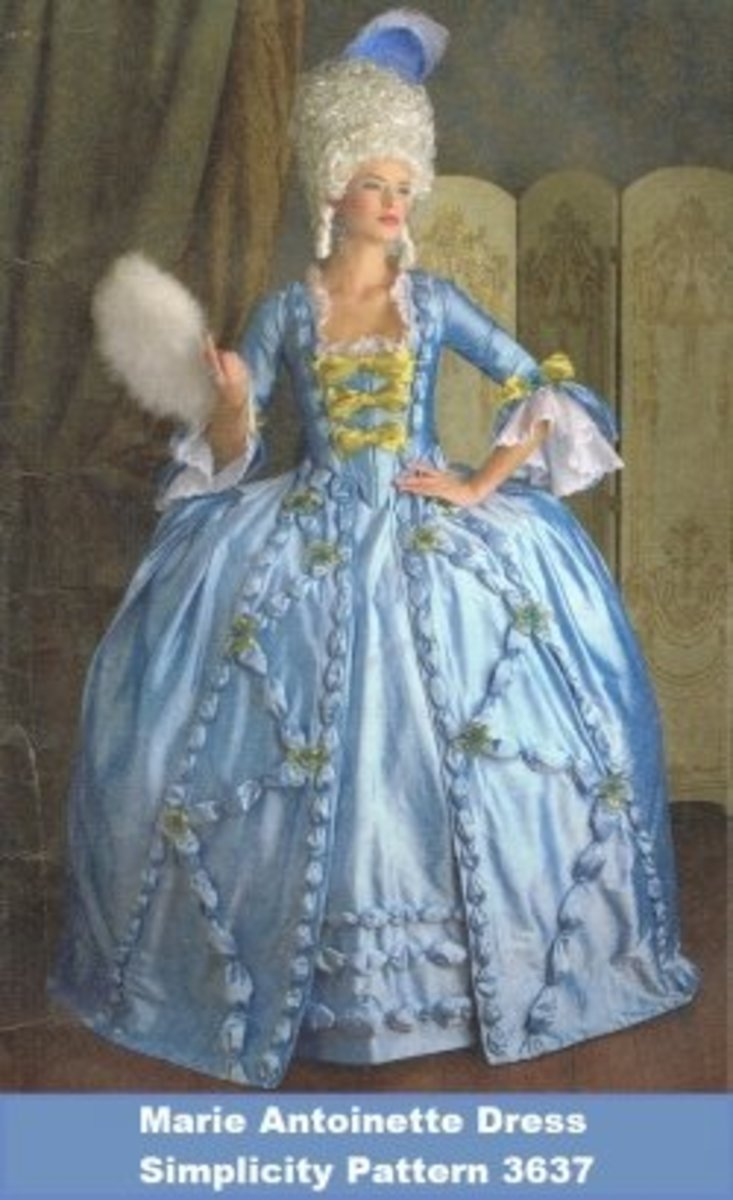How to Sew a Marie Antoinette Dress