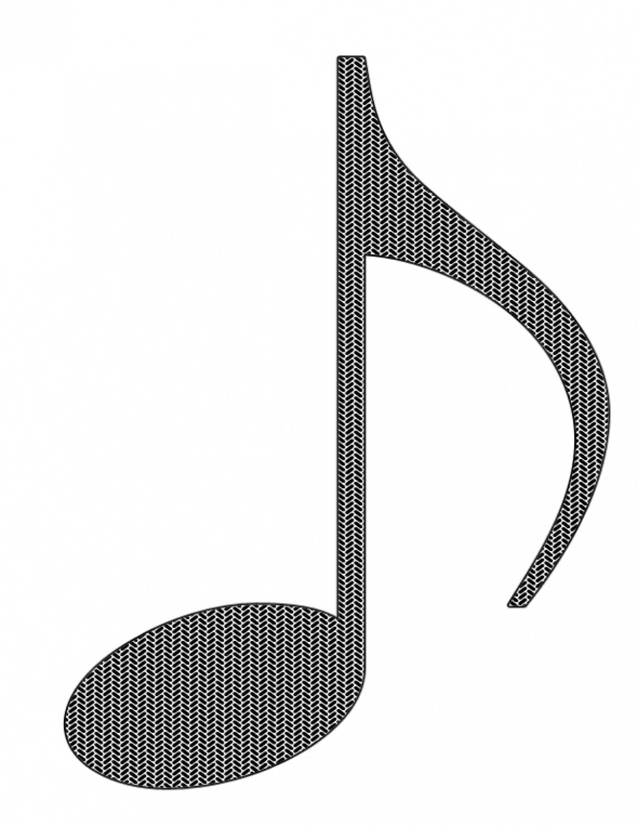 Eighth Note Clipart Free