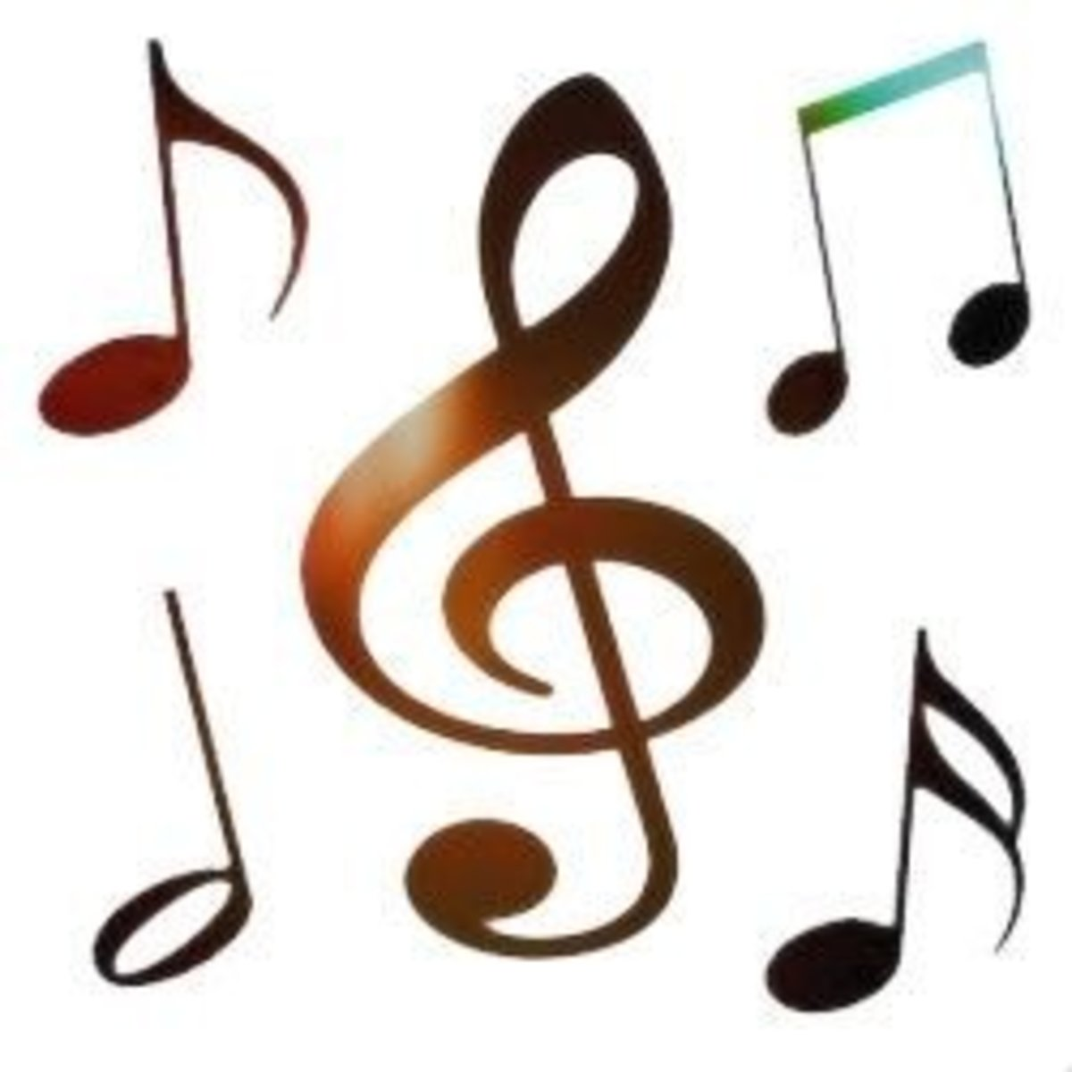 Free Clip Art -  Music Notes & Symbols