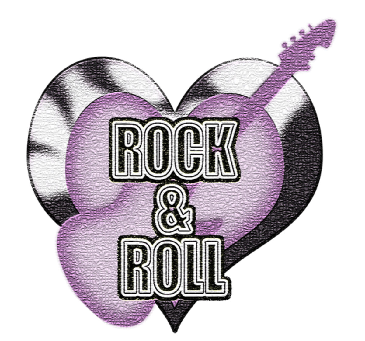 Love Rock & Roll Clip Art Guitar