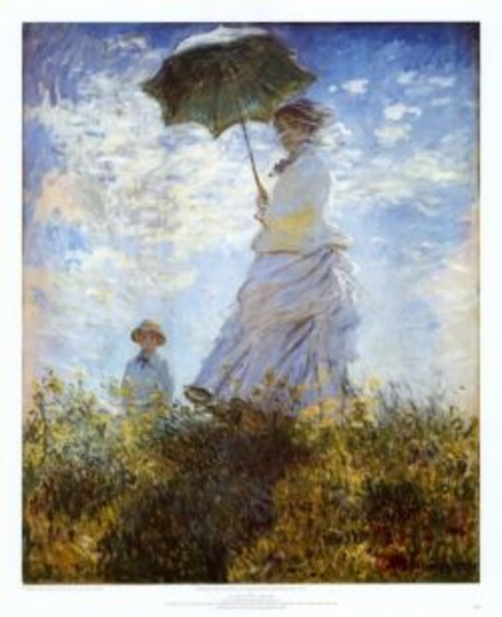 Madame Monet by Claude Monet