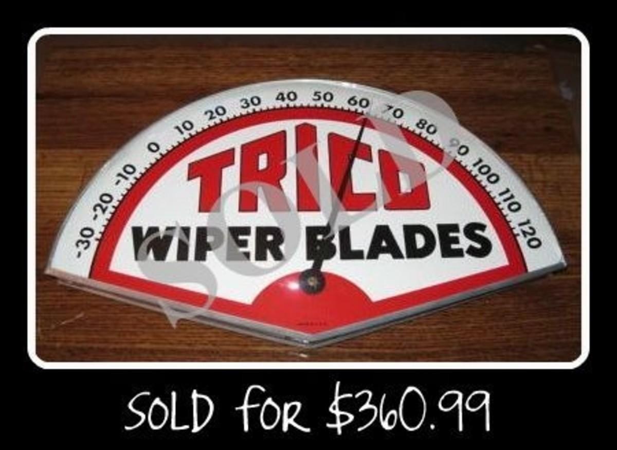 Trico Wiper Blades Thermometer