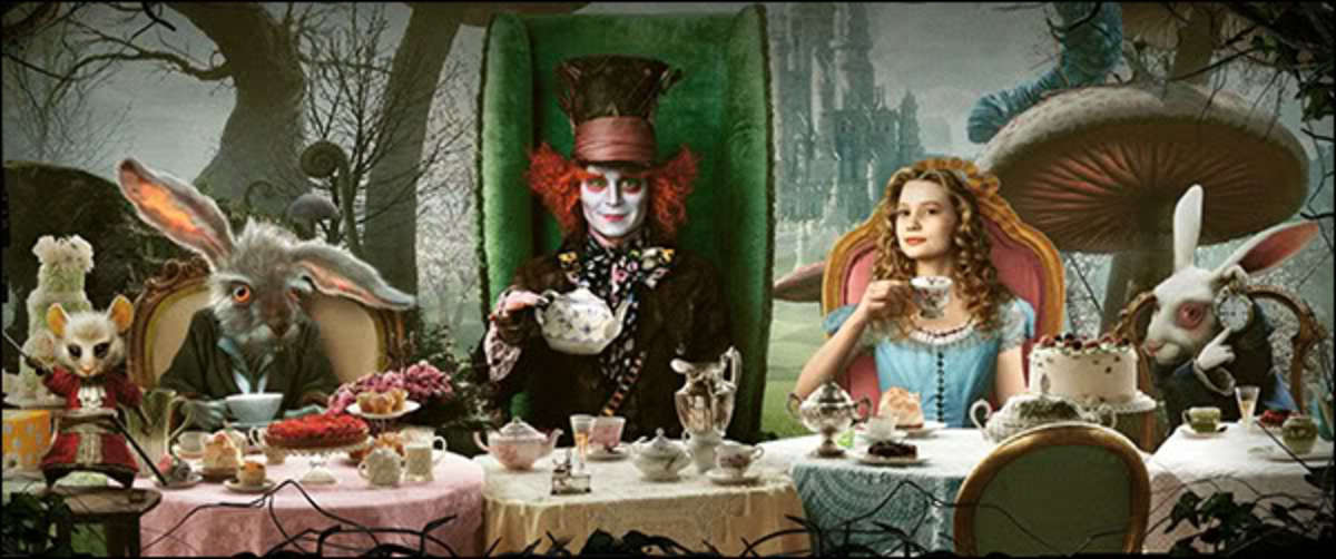 Planning an Alice in Wonderland Tea Party
