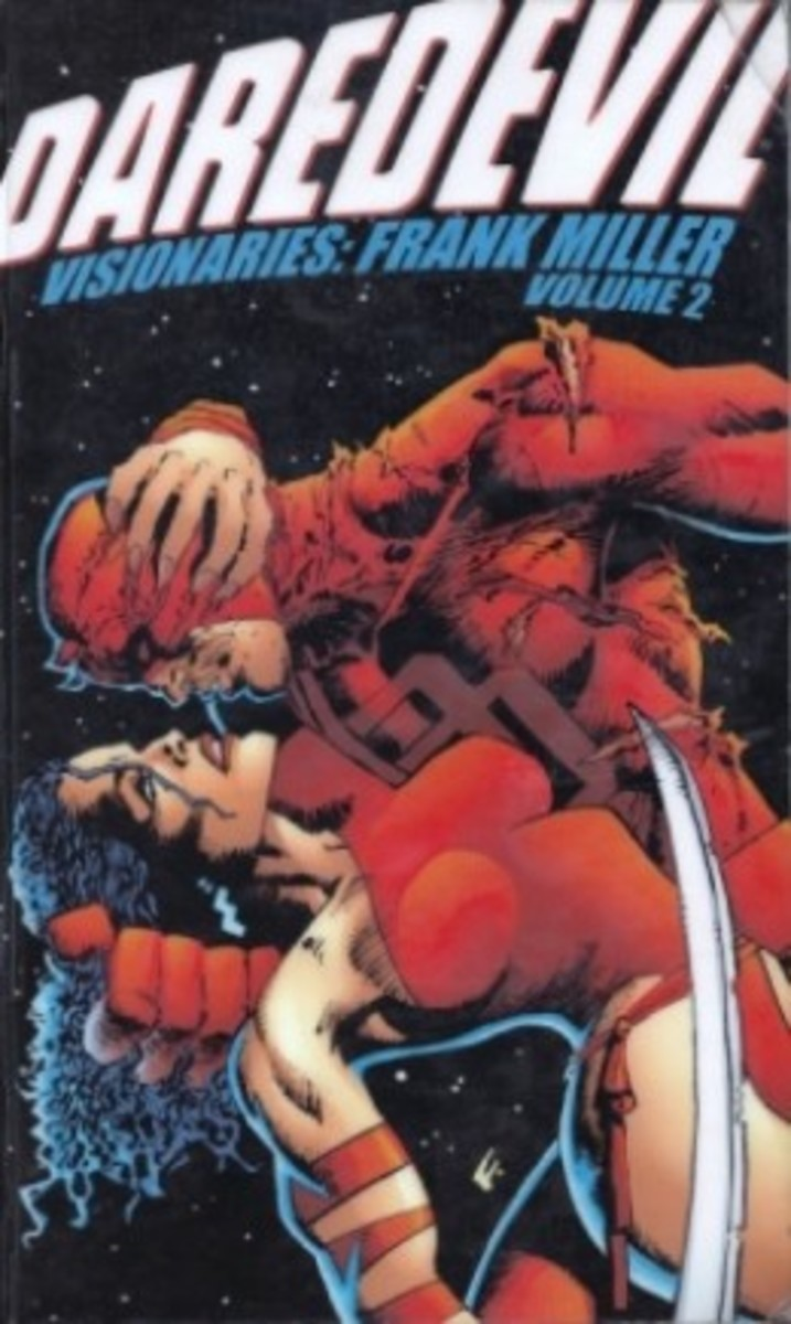 Daredevil Visionaries: Frank Miller A Marvel Comic Book Review of the Complete Elektra Saga!