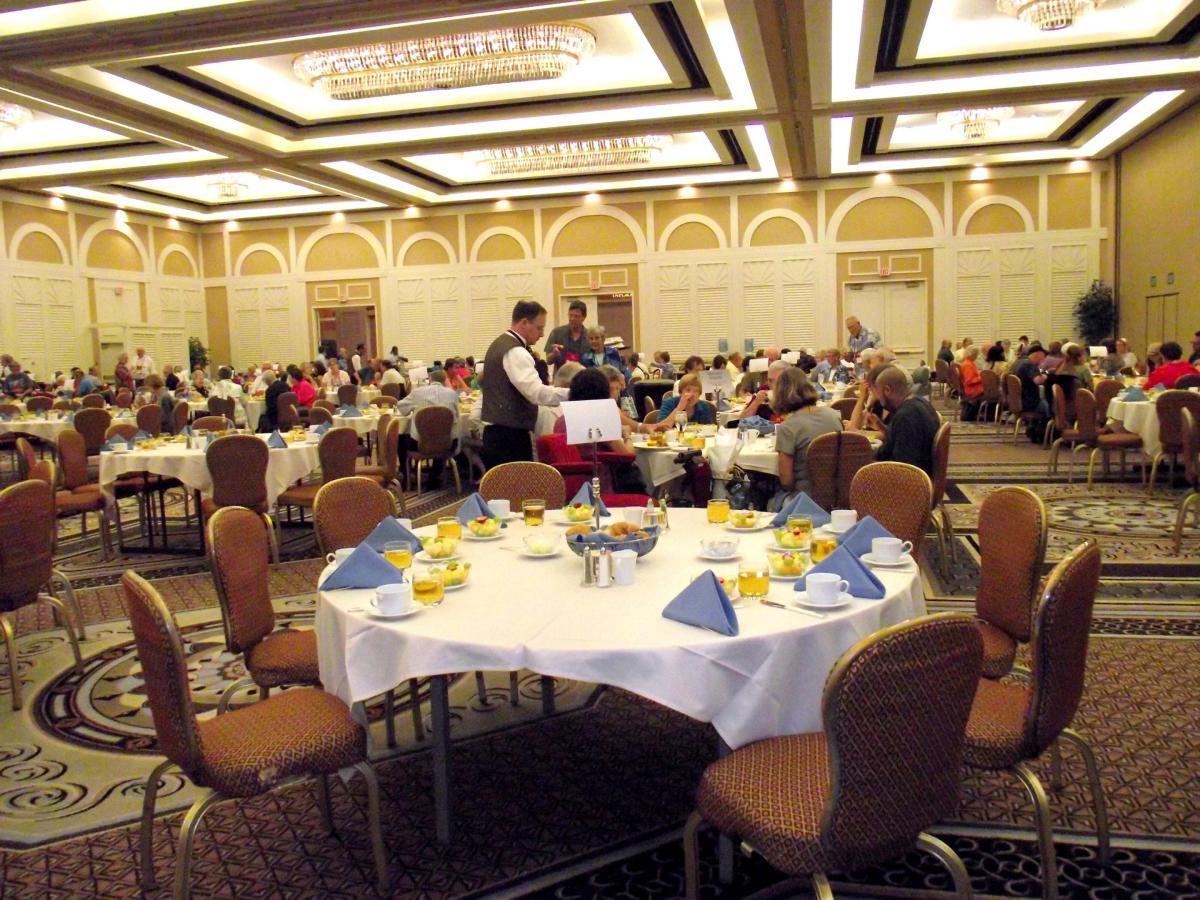 Myositis conference held at Flamingo resort Las Vegas Nevada.