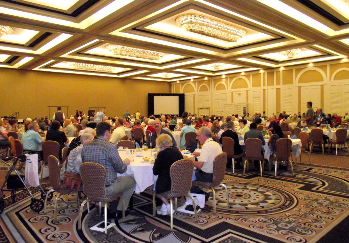Myositis conference seminar Las Vegas, Nevada. The conference is held in a different US location each year to allow as many people as possible the opportunity to attend.