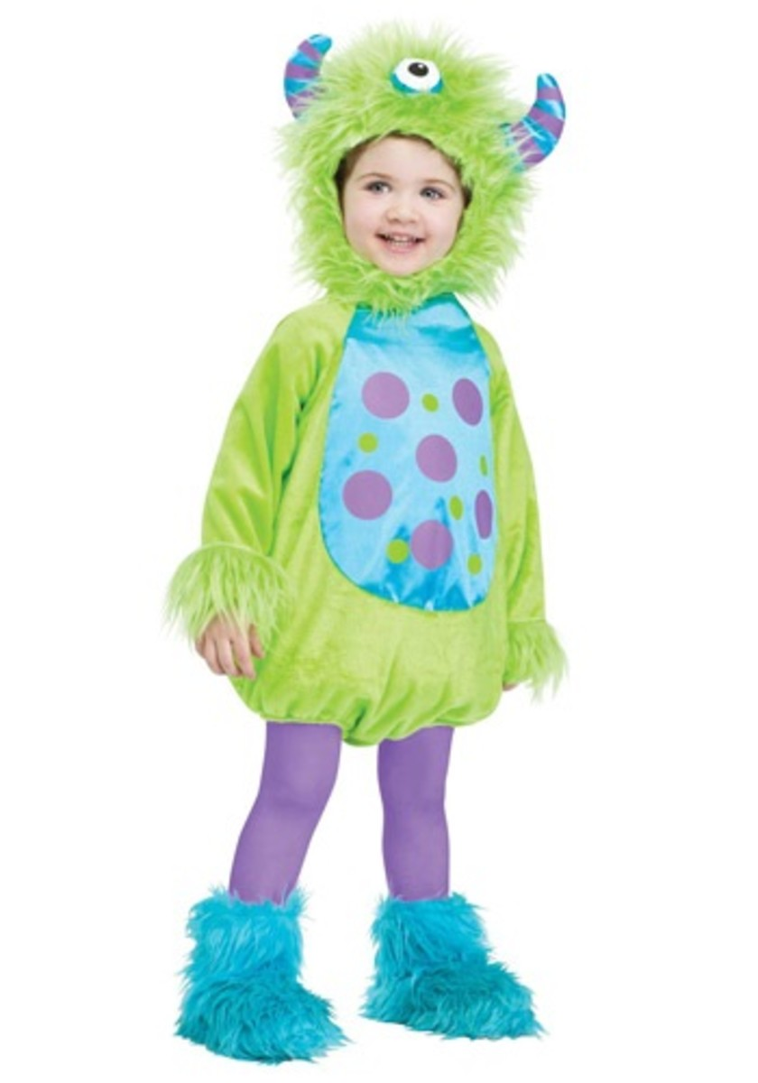 Infant Monster Baby Green Costume
