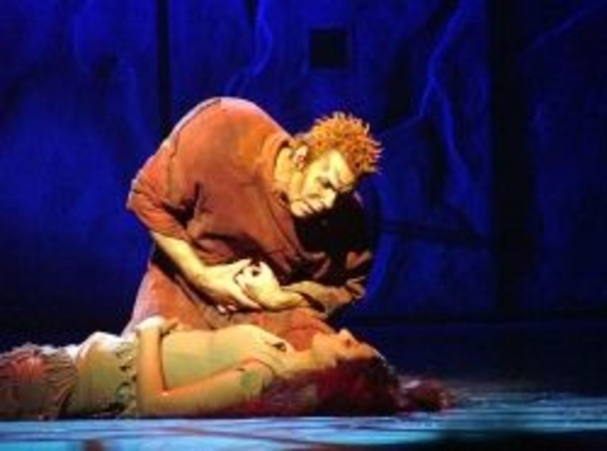 Matt Laurent as Quasimodo with  Nadia Bel