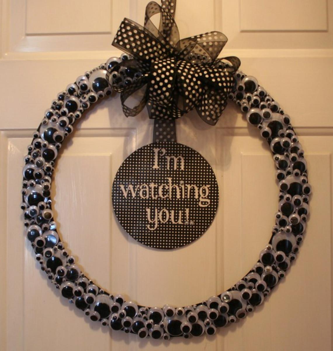 Googly Eye Wreath