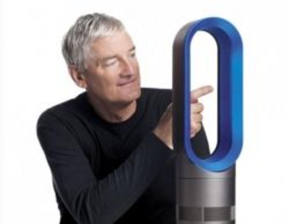 Dyson Hot Air Multiplier Space Heater
